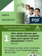 ESTUDIO BIBLICO EDUCACION