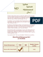 WWMD? What Would Mohammad Do? Islam