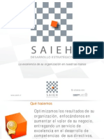 Presentacion Saieh,  Desarrollo Estratégico