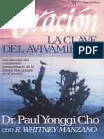 Libro La Oracion Clave Del Avivamient-David_Paul_Y_Cho