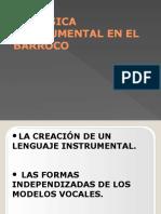 La Música Instrumental en El Barroco (1)
