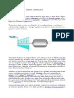 Thermal Powerplants