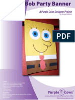 SpongeBob Party Banner by Angie Koehne