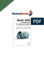 Caldera Cleaver Brooks Modelo 4WG