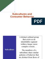 Sub-cultures Apr 13