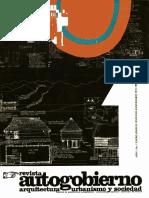 Cuaderno autogobierno Facultad de Arquitectura No 1