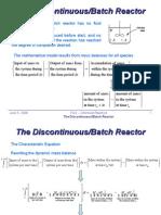 iv-4 - discontinuous-batch chemical reactors