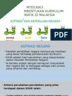 Faktor Pembentukan Kurikulum Matematik Di Malaysia
