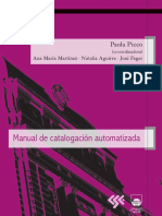 Manual de Catalogación Automatizada
