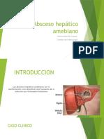 absceso hepatico amebiano