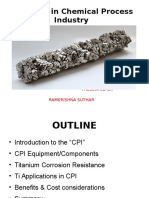 Titanium in Chemical Process Industry