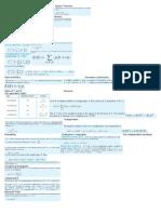 EECS 203 Final Cheat Sheet
