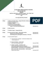 Board of Library Trustees - Agenda - MLK Library - September 28, 2016 - Final