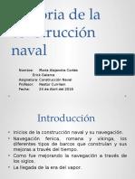 Historia de La Construcción Naval