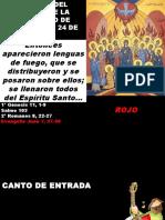 B 26 - Pentecostes - 2015-05-24
