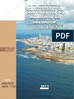 Geologia da plataforma Continental de Salvador