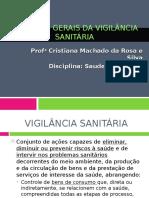 Vigilância SANITÁRIA 2016