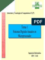 Sistemas Digitales Basados en Microprocesador