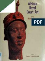African Royal Court Art
