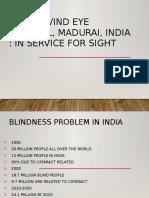 Aravind Case Study