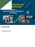 Tema 3 Adquisición de Recursos Humanos