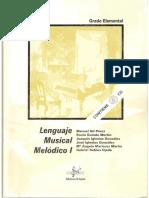 Lenguaje Musical Melodico i Ed Si Bemol