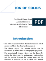 Section of Solids