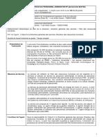 Chef de Service Personnel Administratif Fdp Mars 2013