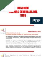 Presentación Normas Retencion ITBIS