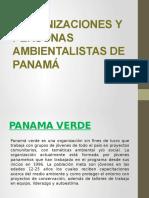 Organizaciones y Personas Ambientalistas de Panamá
