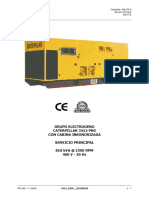 Grupo Generador 3412 Caterpillar Con Cabina