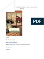 Resumen de Doce Cuentos Peregrinos, Del Autor Gabriel García Márquez