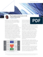 The Fundamental Factors in Enterprise Architecture