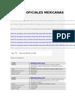 Normas Oficiales Mexicanas[1]