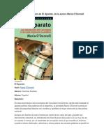 Resumen de El Aparato, De La Autora María O'Donnell