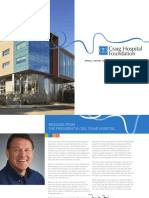 2015 Craig Hospital Foundation Annual Report Reduced