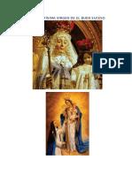 Novena a La Santísima Virgen de El Buen Suceso