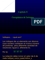 Capitulo 9 Isotopos