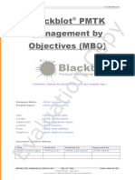 Blackblot PMTK Management by Objectives