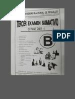 Examen Tercer Sumativo 2017_1 Area b