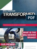 MSU Denver Brand Book