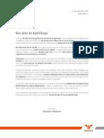 Carta Ayotzinapa