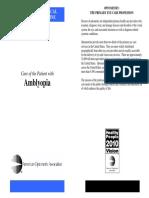 CPG 4 Amblyopia