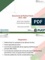 26 1 16 Politica Fiscal