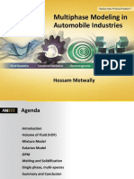 Multiphase Modeling in Automobile Industries