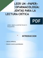 Como Leer Un «Paper» en Psicofarmacología