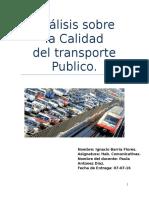 Calidad Del Transporte Publico Final