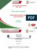 Plan de Desarrollo de Sandoná 2016 - 2019