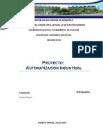 Informe de Proyecto  Informatica Industrial