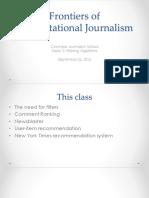 Computational Journalism 2016 Week 3